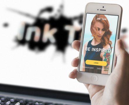 Ink Tank Responsive Web Application