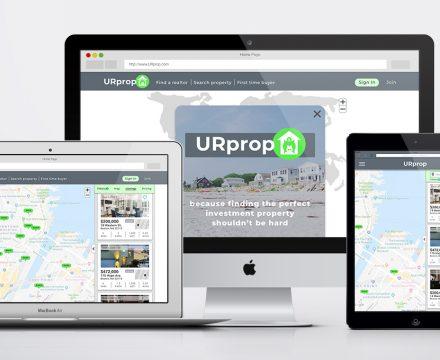 URprop Responsive Web Application